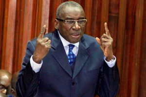 Sidiki Kaba, Ministre de la justice