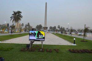 Place de la Nation à Dakar