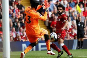 Salah a été doublement décisif contre Arsenal. (Reuters)