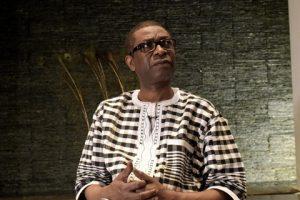 Le chanteur sénégalais Youssou N'Dour en mars 2017. © SEYLLOU / AFP