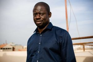 Felwine Sarr, écrivain, chez lui à Dakar.